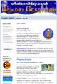 December 2009 Newsletter